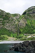 Cascata do Poço do Bacalhau, Fajã Grande, 1, Arquivo de Villa Maria, ilha Terceira, Açores.JPG