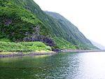 Lagoa da Caldeira de Santo Cristo, ilha de São Jorge, Açores, Portugal.JPG