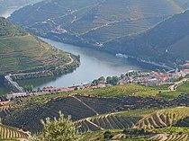 Pinhão. au cœur de région viticole du Haut-Douro (patrimoine mondial de l'UNESCO)
