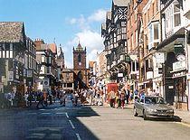 Bridge Street à Chester
