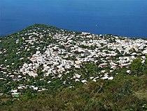 Vue depuis le télésiège du mont Solaro