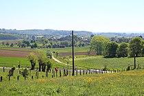 Vue vers le village de Brakel