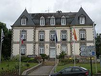 La mairie de Mûr-de-Bretagne