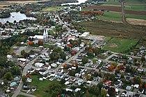 Village de Sainte-Thècle à l'automne 2008